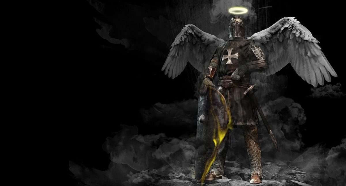 Angelic Knight Armor Of God